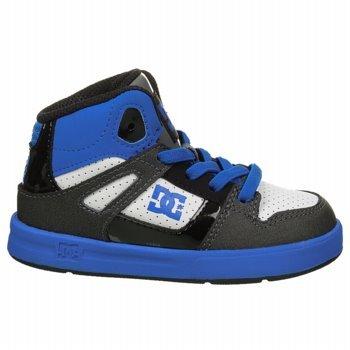 Dc Rebound Ul Skate Shoe (Toddler),Blue/White,5 M Us Toddler front-979276