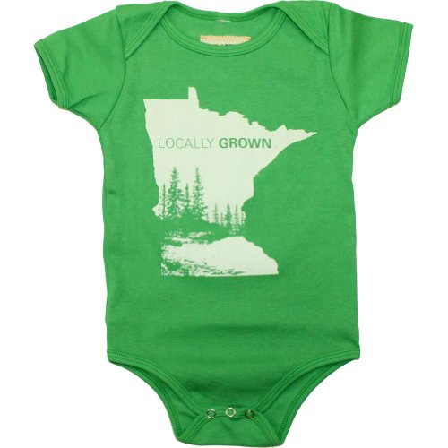 Locally Grown Clothing Co. Unisex-Baby Minnesota