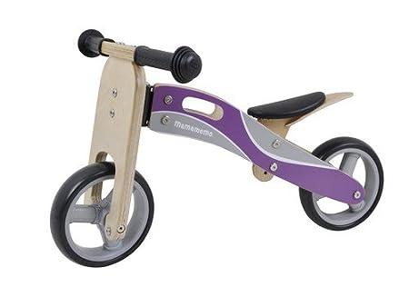Filles en bois Vélo / vélo équilibre Micro. Adapté à partir de 2 ans. Grands filles / Toddler cadeaux