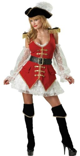 Pirate Treasure Costume - Large - Dress Size 10-14