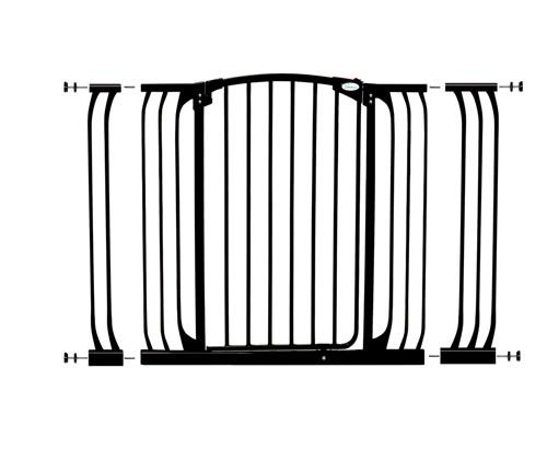 Dreambaby Extra Tall Pressure Mount Hallway Gate with Extensions