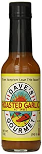 Dave's Gourmet Hot Sauce, Roasted Garlic, 5 Ounce