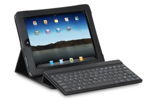iHome Bluetooth Keyboard and Leather Case for iPad 2 - Black (IH-IP2100)