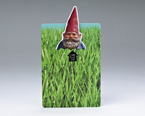Let Me Out Gnome Birthday Card