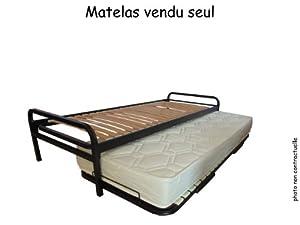 Matelas pour lit gigogne nacre 80 x 190 cuisine maison - Matelas pour lit gigogne ...