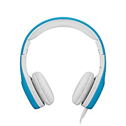 LilGadgets Connect+ Premium Volume Limited Wired Headphones with SharePort for Children - Blue