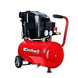 Einhell TE-AC 230/24, Kompressor, 1,5 kW, 24 L, Ansaugleistung 230 l/min, 8 bar, 1 Zylinder, 4010460