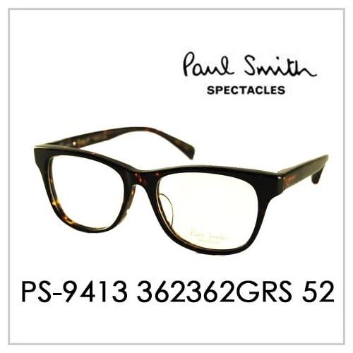 PAUL SMITH ポールスミス  メガネフレーム サングラス 伊達メガネ 眼鏡 PS-9413 362362GRS 52 PAUL SMITH専用ケース付 スペクタクルズ