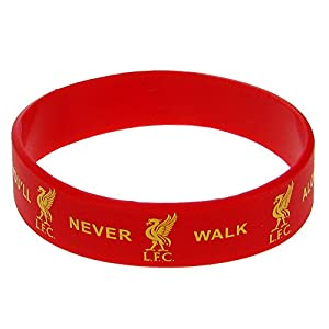 "Official LIVERPOOL FC ""YNWA"" red rubber wristband by Official Football Merchandise"