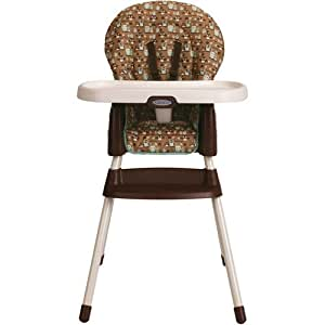 Graco SimpleSwitch High Chair And Booster Little Baby Toys
