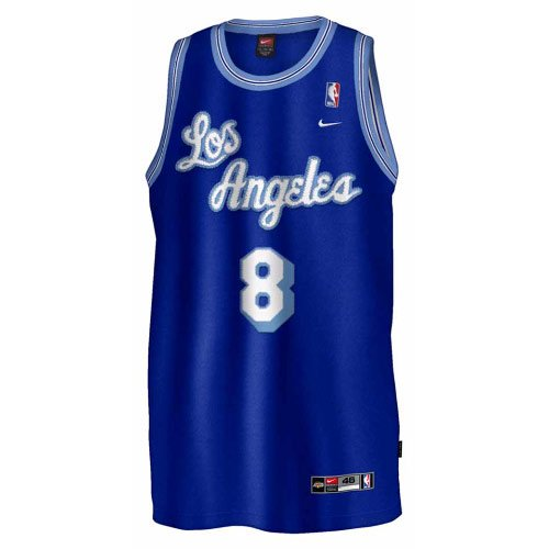 Nike Los Angeles Lakers #8 Kobe Bryant Royal Blue Hardwood Classic