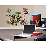 (10x18) Teenage Mutant Ninja Turtles Peel & Stick Wall Decals