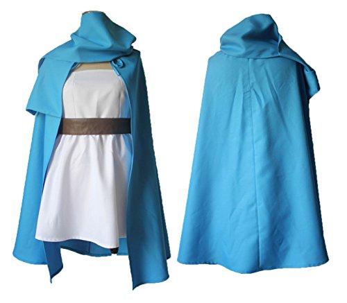 【ノーブランド品】2490人気特製 ドラゴンクエスト3 女賢者 コスプレ衣装(オーダー)