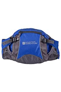 Mountain Warehouse Ride Waist Mens Womens Unisex Sports Walking Hiking Camping Bumbags Bum Bag Cobalt