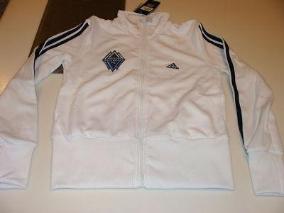 Vancouver Whitecaps FC Soccer MLS Womens Track Top XS - Men's NHL Other Apparel