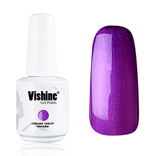 Vishine-Gelpolish-Professional-Manicure-Salon-UV-LED-Soak-Off-Gel-Nail-Polish-Varnish-Color-Purple1338
