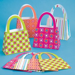 12 ct - Purse Shaped Gift Party Favor Bags