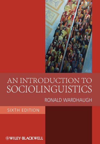 introduction to sociolinguistics the relationship between society and language The sociolinguistics of society is about the social importance of language to groups of people, from small sociocultural groups of a few hundred people to entire nations if everyone in the group spoke exactly the same as everyone else in the group, there would be no such thing as the sociolinguistics of society.