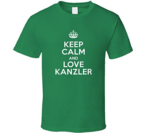 Kanzler Keep Calm and Love Parody Custom Name T Shirt