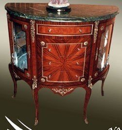 Buffet baroque commode de style antique buffet Rococo MoBa0564