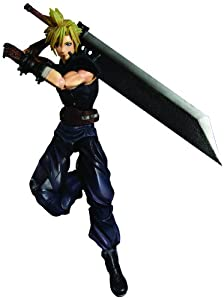 Square Enix Dissidia: Final Fantasy Play Arts Kai: Cloud Action Figure
