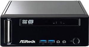 Asrock Mini 180D/B Desktop-PC (AMD E2-1800 APU, 4GB RAM, 500GB HDD, kein Betriebssystem)