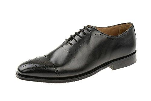 Gordon & BrosGordon & Bros Lorenzo Schuhe schwarz 201-013 - Scarpe Basse Stringate Uomo , Nero (nero), 43