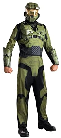 Halo Master Chief Costume, Green, X-Large