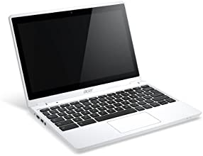 Acer 11.6-Inch Touchscreen Chromebook (2GB DDR3L, 32GB SSD, Chrome OS) Moonstone White(English Only Keyboard)