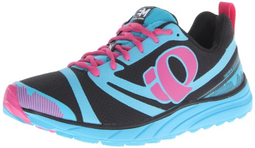 Pearl Izumi – Run Women's W EM Trail N 2 Trail Running Shoe,Black/Electric Blue,10 D US