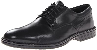 Rockport Men's Rocsports LT Business Plaintoe Oxford,Black,6.5 W US