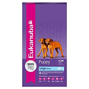 Eukanuba Puppy and Junior Large Breed Dry Food 15 kg