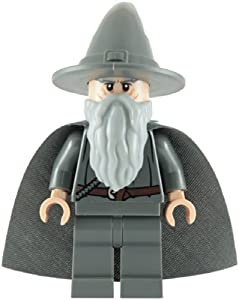 LEGO The Lord of the Rings: Gandalf the Grey Minifigure with Grey Cape