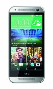 HTC One mini 2 Smartphone (11,4 cm (4,5 Zoll) Touchscreen, 1,2GHz, Quad-Core-Prozessor, 1GB RAM, 13 Megapixel Kamera, 16GB interner Speicher, Nano-SIM, Android 4.4.2 KitKat) silber