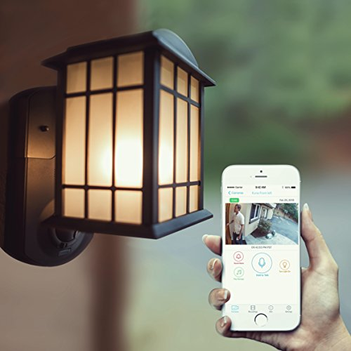 Porch Light With Camera: Maximus Video Security Camera & Outdoor Light