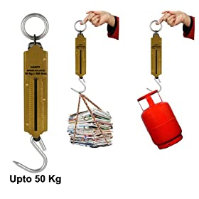 OEM Handy Suspension Weighing Scale Machine   Upto 50 Kg Capacity OEM Handy Suspension Weighing Scale Machine   Upto 50 Kg Capacity available at Amazon for Rs.190