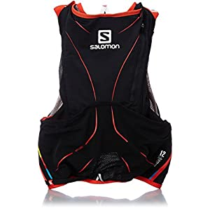 [サロモン] salomon S-LAB ADV SKIN3 12SET M/L L37161600 ALUMINIUM/BLACK/RACING RED (ブラック)