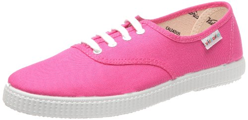 Victoria Inglesa Lona, Chaussures  lacets mixte adulte - Violet (Fucsia), 38 EU
