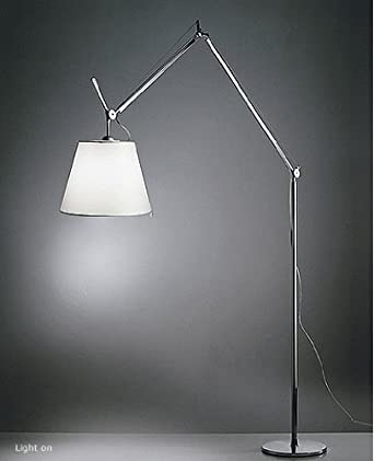 tolomeo mega floor lamp large 17 42 cm parchment 220 240v for. Black Bedroom Furniture Sets. Home Design Ideas