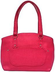 Darash Fashion Women's Stylish Handbag Pink-Bag-28