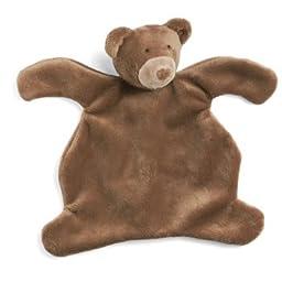 Brown Bear Baby Cozies Blanket