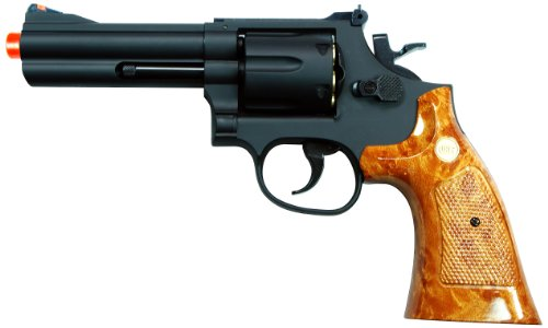 UHC UG134 4-Inch Gas Powered Airsoft Barrel Revolver (Black) (290 Fps Airsoft Gun compare prices)