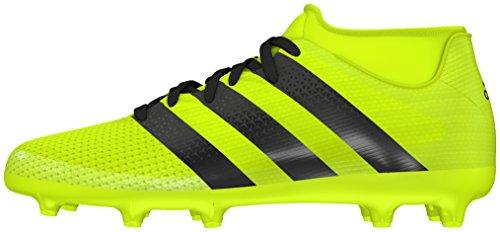 adidas ACE 16.3 PRIMEMESH FG/AG J - Scarpe da calcio da Bambini, taglia 38,2/3, colore Giallo