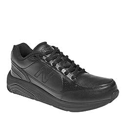 New Balance Men\'s MW928 Lace Walking Shoe,Black,13 4E US