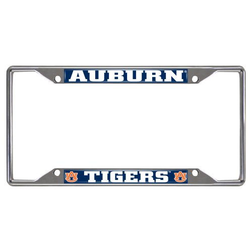 FANMATS NCAA Auburn University Tigers Chrome License Plate Frame