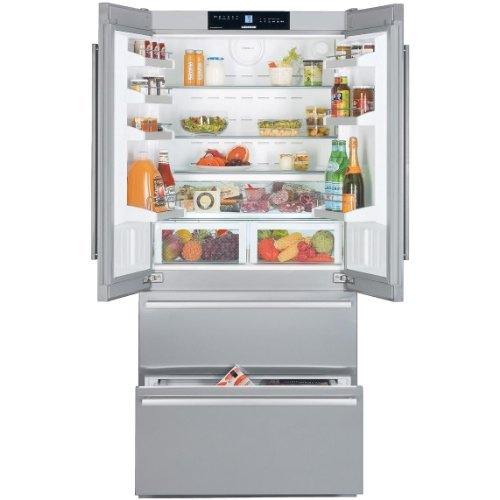 Liebherr CBS2062 18.8 Cu. Ft. Stainless Steel Counter Depth French Door Refrigerator - Energy Star