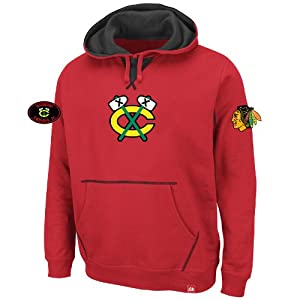 Chicago Blackhawks Sky High Red Hooded Sweatshirt Hoody by VF