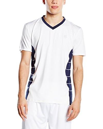 K-Swiss T-Shirt Manica Corta V Neck