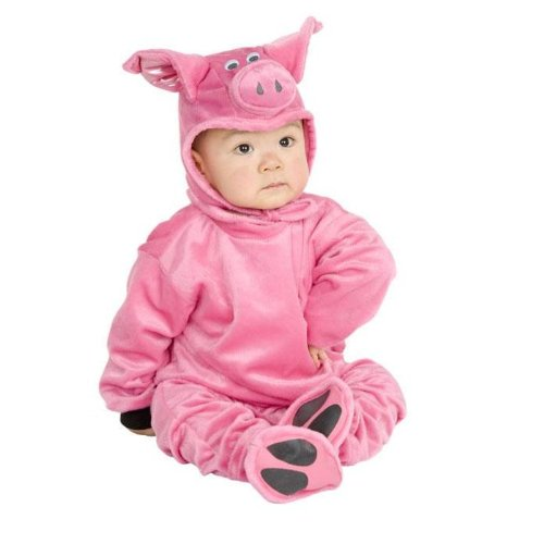 Little Pig Newborn Baby Costume