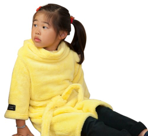 mofuaモフア 袖付きマイクロファイバー毛布(帯付) ミニ イエロー 40026503